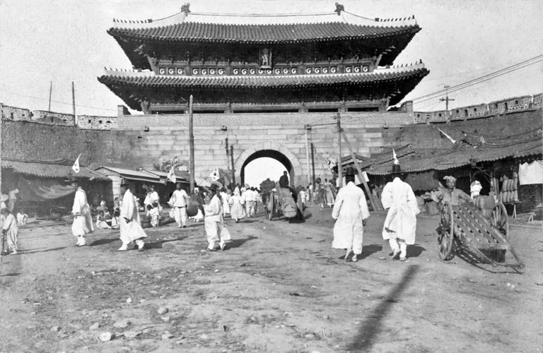 Namdaeum, the Great South Gate in 1899