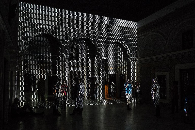 International Light Art Project Tunis