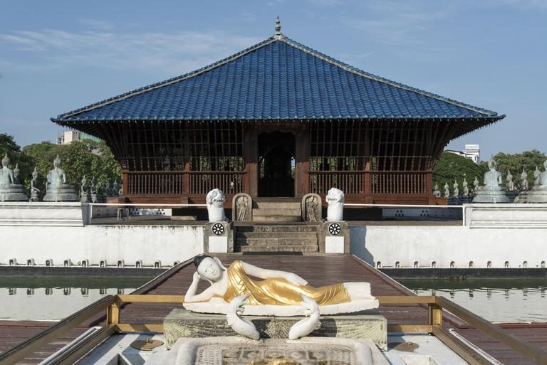 Seema Malakaya Meditation Centre, Colombo, Sri Lanka