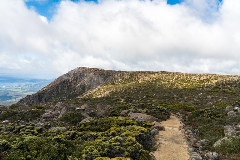 The 'Organ Pipes' Mt Wellington,