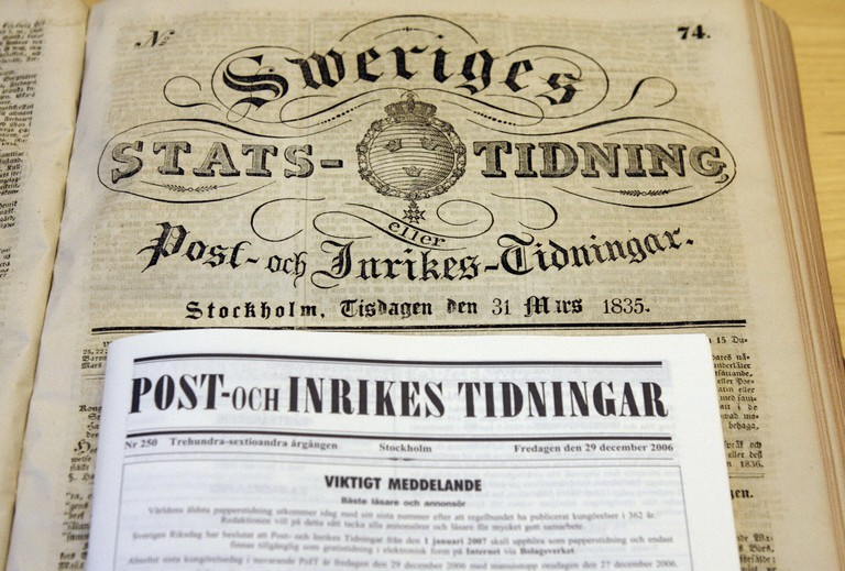 The 31 March 1835 issue is opened with t