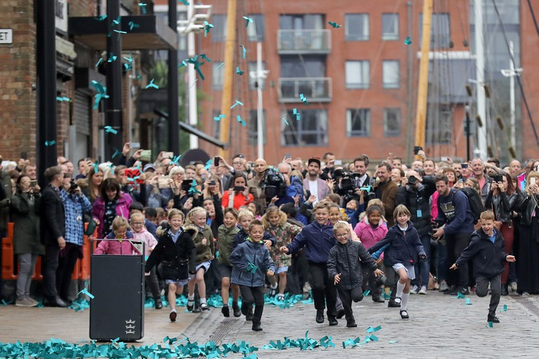 The World's Favourite Colour Revealed In Hull