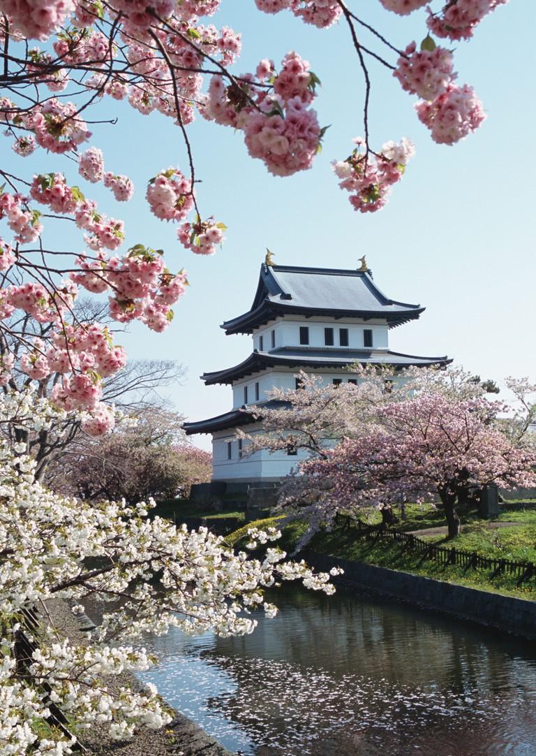 Matsumae Castle, Japan.
