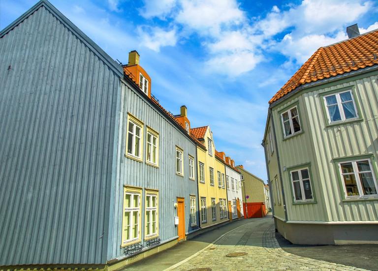 Street Nedre Bakklandet, Trondheim