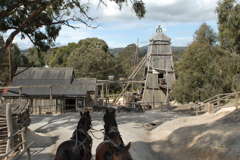 One of Australia's most popular attractions is the animated gold rush open-air museum of Sovereign Hill in Ballarat, Victoria