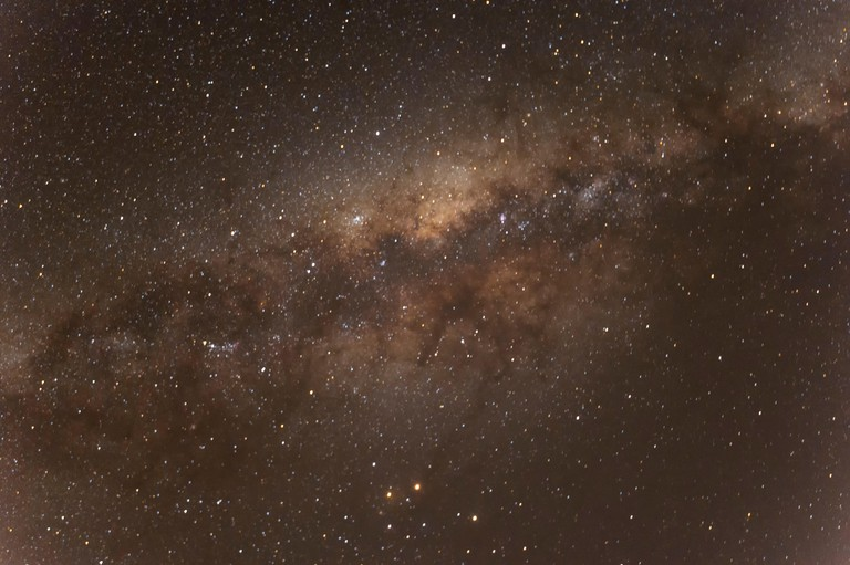 Milky Way above New South Wales, NSW, Australia