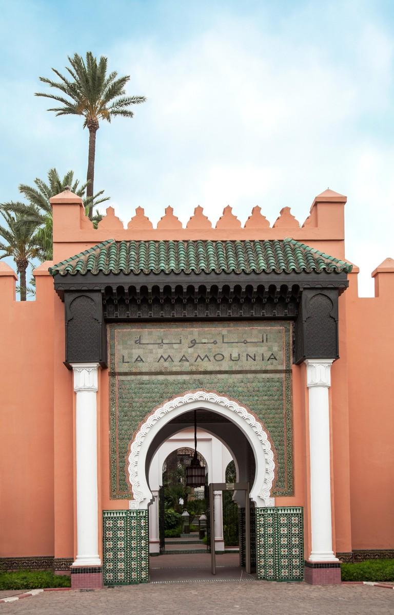 La Mamounia Hotel in Marrakesh