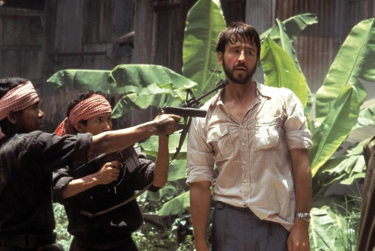 Sam Waterston plays journalist Sydney Schanberg in 'The Killing Fields'