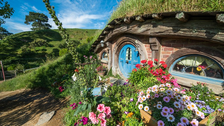Hobbiton from the 'Lord of the Rings' franchise