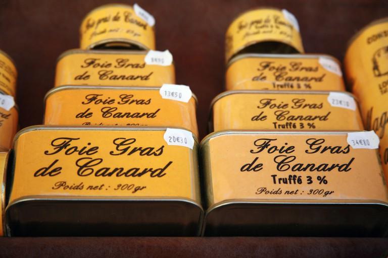Foie Gras for Sale, France