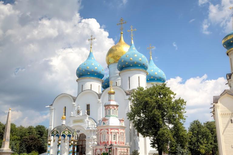 Holy Trinity St. Sergius Lavra. Sergiev Posad, Russia.