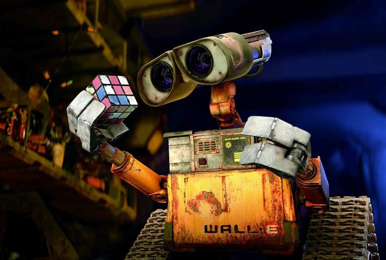 WALL·E THE ROBOT WALL·E; WALL.E; WALL E (2008)