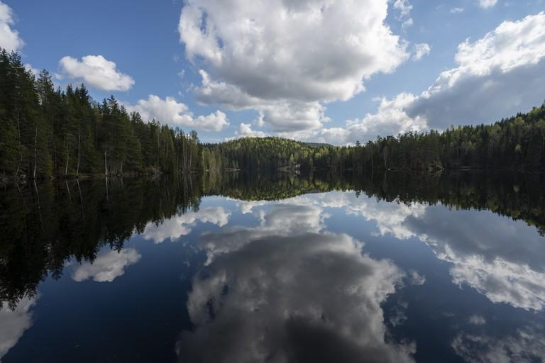 Lake Mønevann Østmarka forest Akershus-VG Partnerstudio - VisitNorway.com