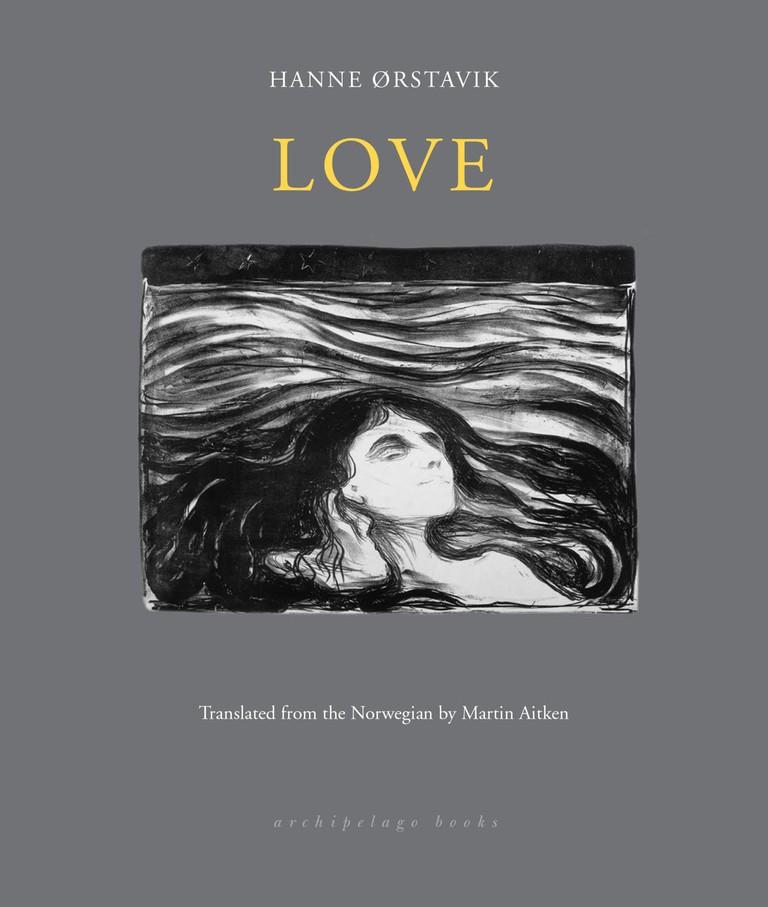 Paperback copy of Love by Hanne Ørstavik