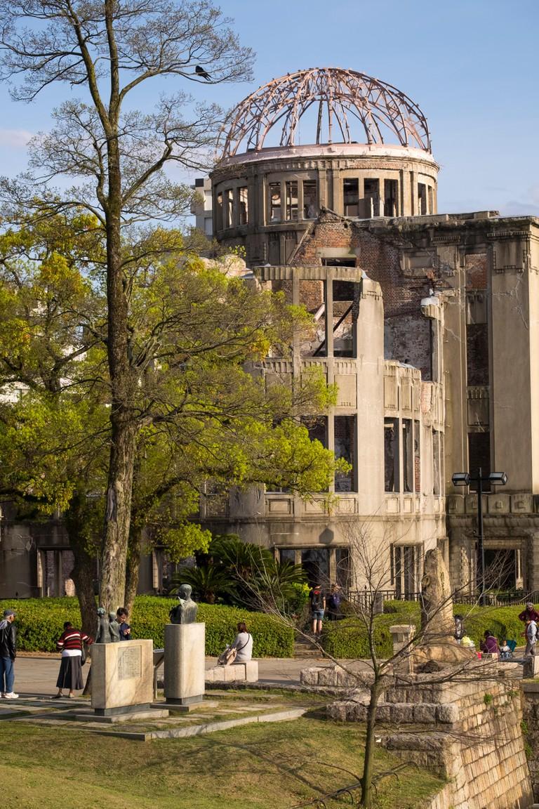 The Atomic Bomb Dome in the Peace Memorial Park, Hiroshima, Japan