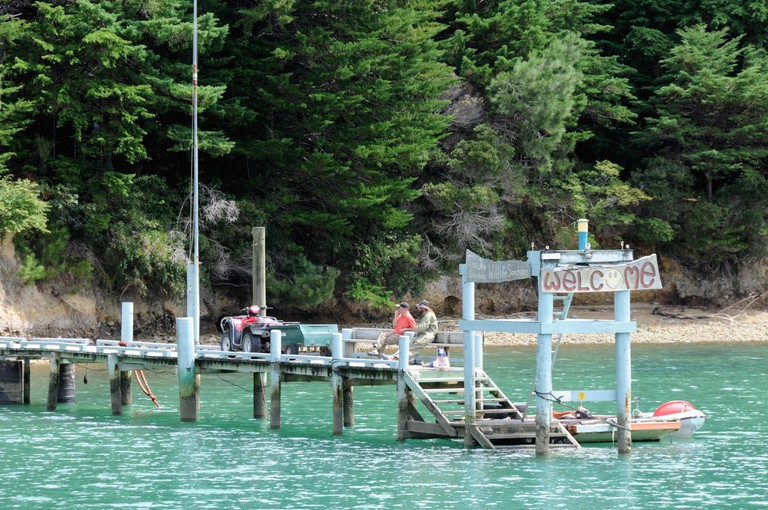 The Pelorus Mailboat, oficially part of the NewZealand Post mail run, takes mail, supplies and passengers to remote parts of the Marlborough Sound.