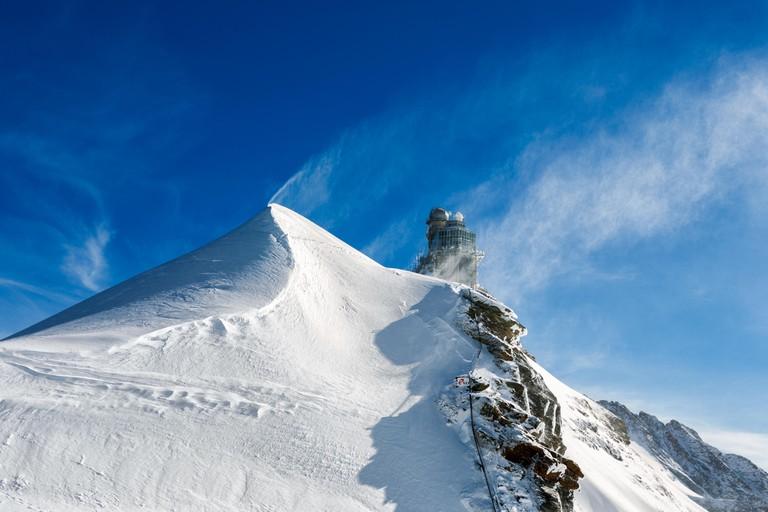 Sphinx Observatory - Switzerland. Sphinx-Observatorium.Jungfraujoch.Schweiz.