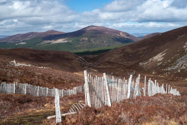 The Cairngorms, Scottish Highland, Scotland, uk