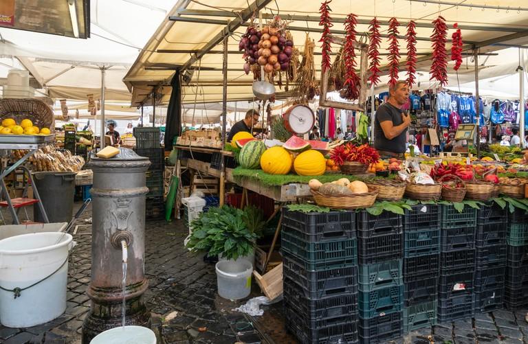 Campo Dei Fiori street market