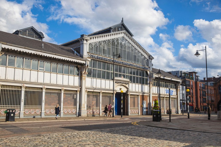 UK, England, Manchester, The museum of science and industry in the disused Liverpool Road Station