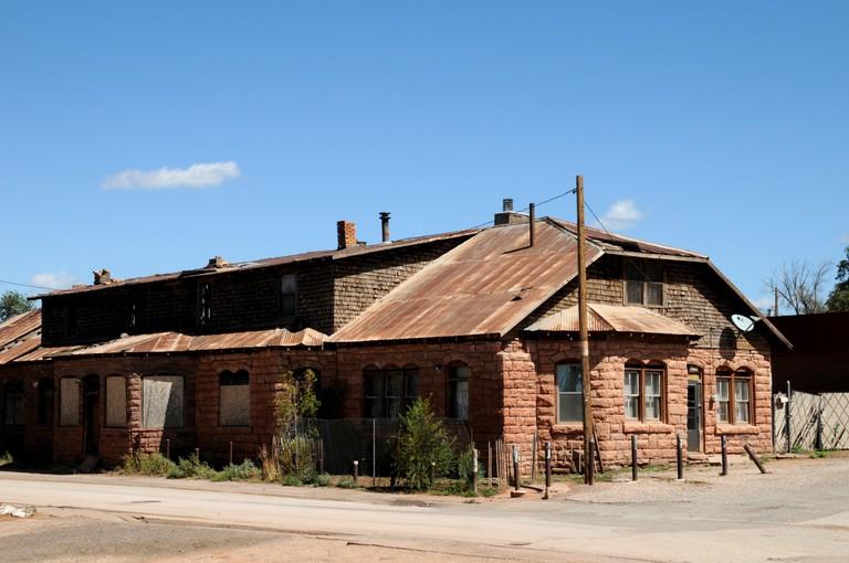 Buildings and views in Zuni Pueblo