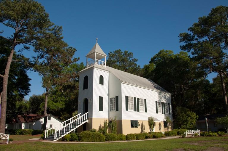Historic First Presbyterian Church, St. Marys, Georgia.