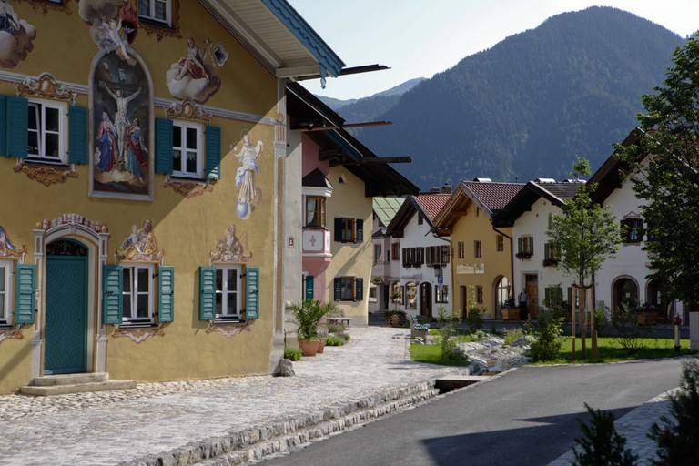 Mittenwald Upper Bavaria Bavaria Germany Europe