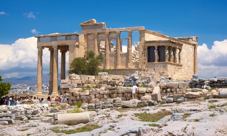 Athens - Acropolis, Erechtheum temple, Greece