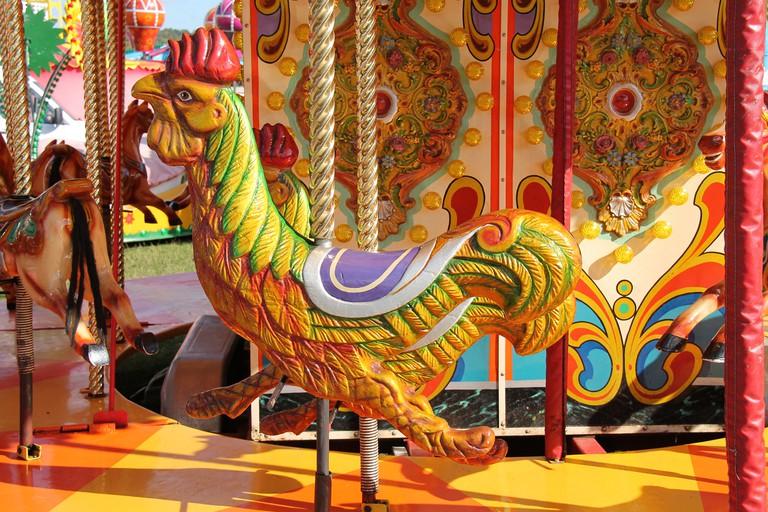 Fun Fair Carousel Ride.