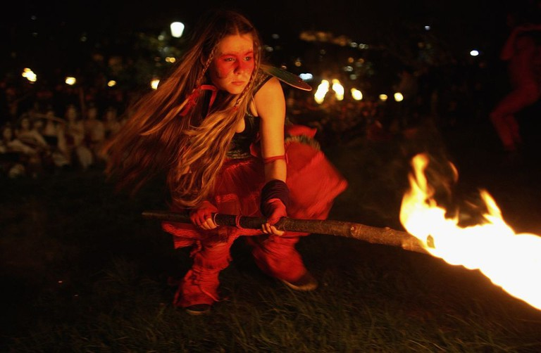 The Beltane Fire Festival Takes Place In Edinburgh