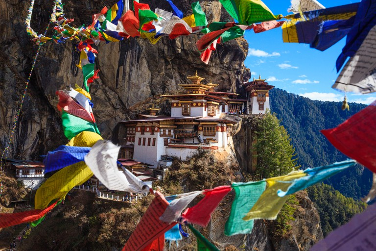 Taktshang Goemba or Tiger Nest Monastery was blessed and sanctified as one of the most sacred religious sites in Bhutan.