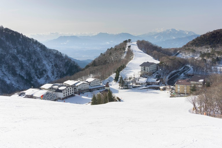Ski Resort In Nagano, Japan