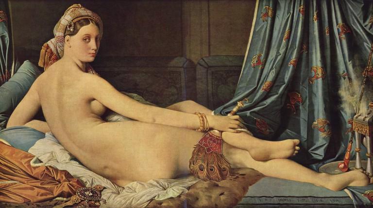 Jean-Auguste-Dominique Ingres, 'Grande Odalisque', 1814