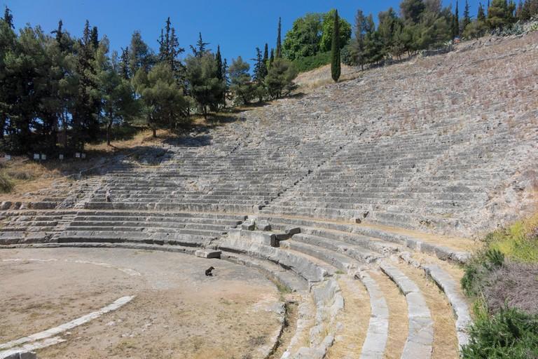 Ancient Theatre, Argos, Peloponnese, Greece, Europe