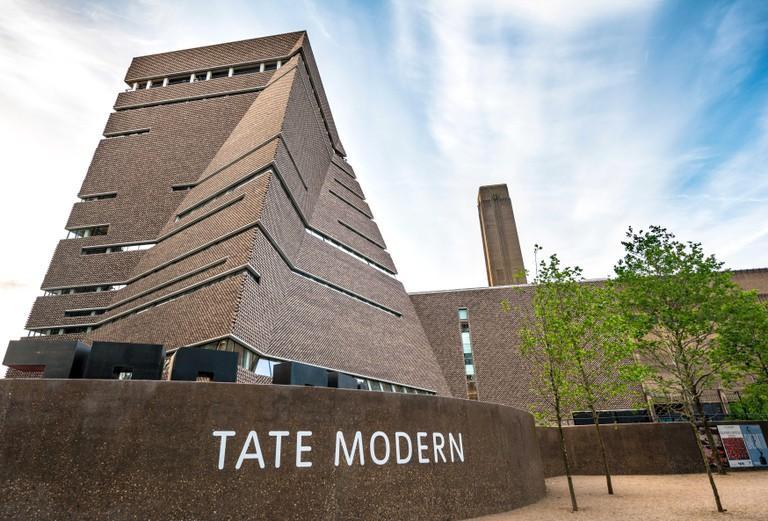 Tate Gallery of Modern Art, Tate Modern, London.