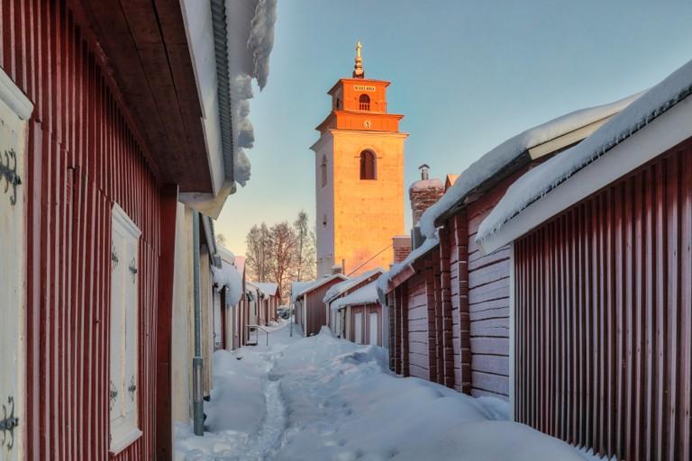 Gammelstad, Lulea, Swedish Lapland, Sweden, Europe