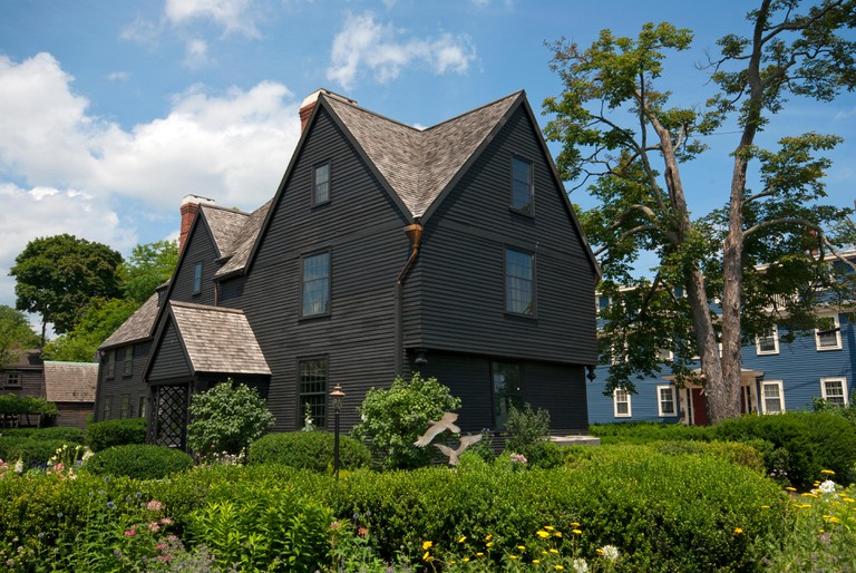 The House of the Seven Gables (which inspired the novel by Nathaniel Hawthorne), Salem, Essex County, Massachusetts, USA, North America