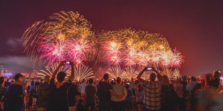 Perth Festival Fireworks