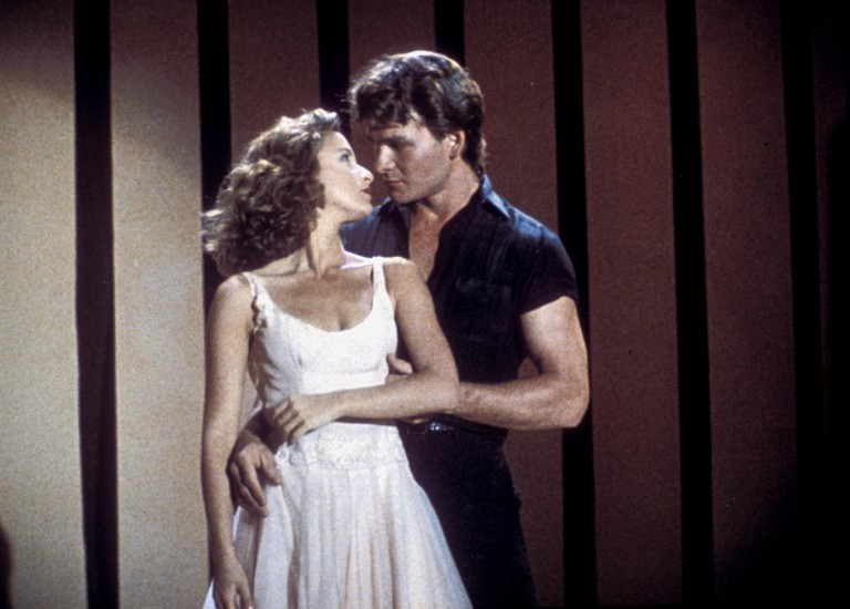 Patrick Swayze and Jennifer Grey in Dirty Dancing 1987
