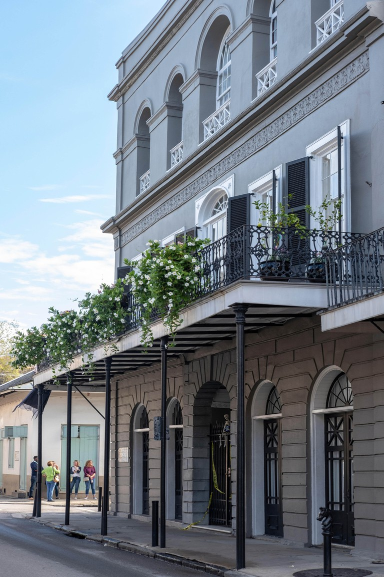 Historic homes us, LaLaurie Mansion, home of Madame LaLaurie, Royal Street, New Orleans French Quarter, Louisiana, USA