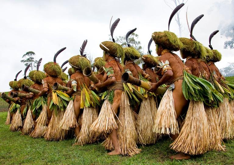 Mount Hagen sing sing festival, Highlands, Papua New Guinea
