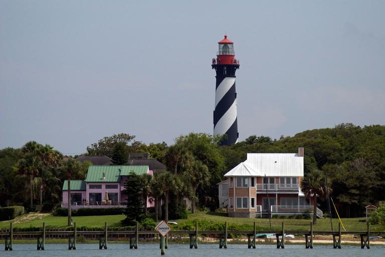 St Augustine Lighthouse on Anastasia Island St Augustine, Florida