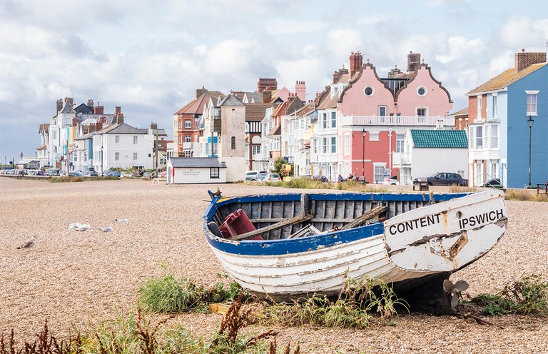 Aldeburgh is the definition of a traditional British seaside town