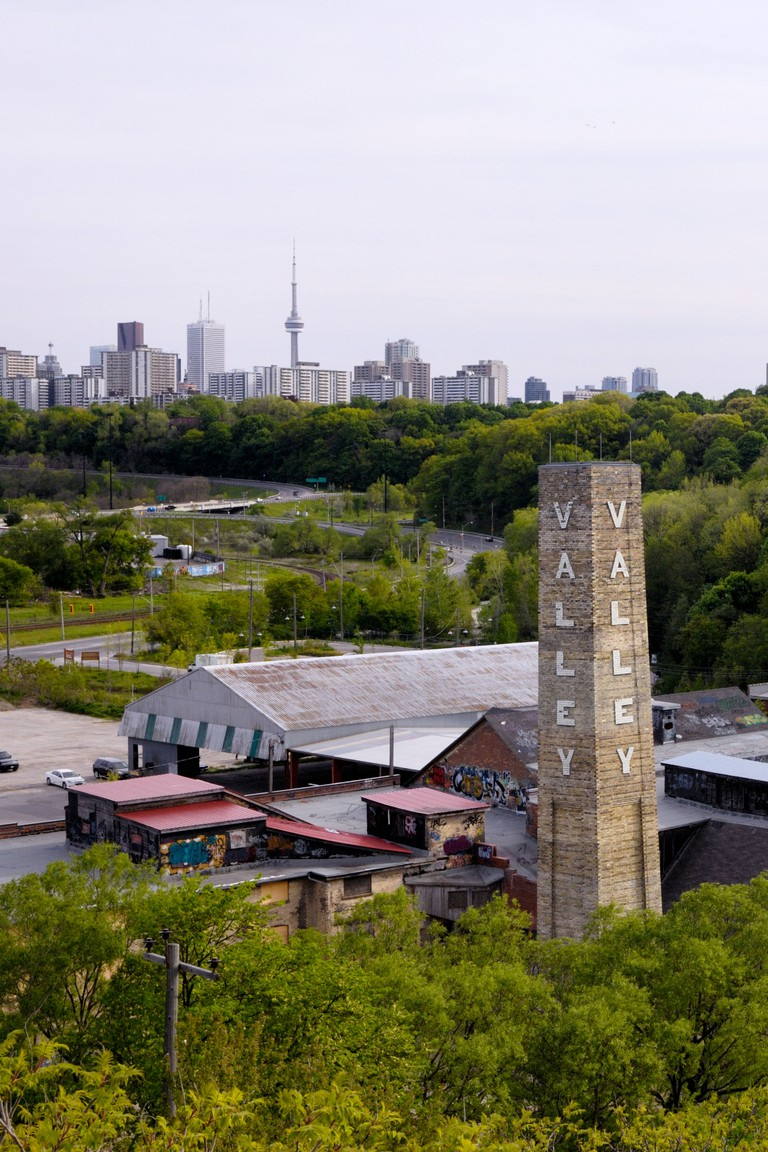 Don Valley Brick Works in Toronto. Image shot 2008. Exact date unknown.