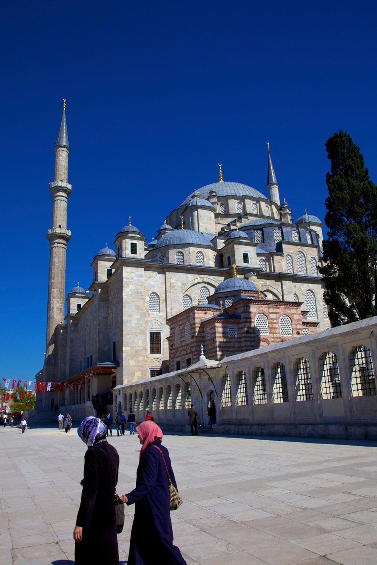 Fatih Mosque, Istanbul, Turkey, Europe