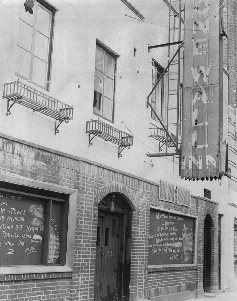 Stonewall Inn, Greenwich Village, Manhattan, July 08, 1969
