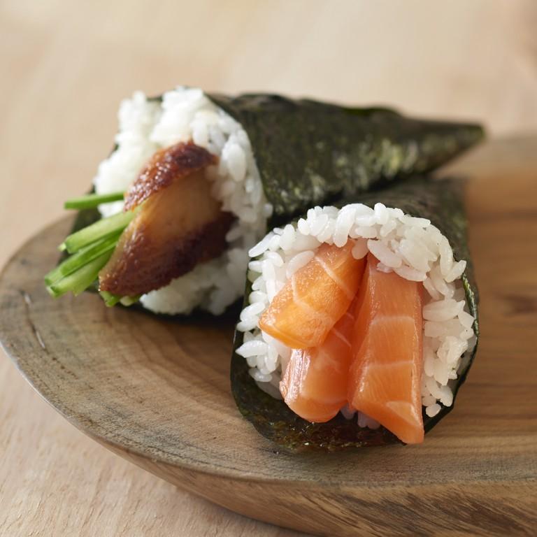Japanese handroll sushi