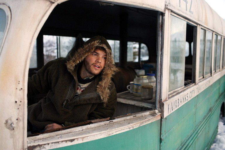 Emile Hirsch, as Christopher McCandless in Into The Wild, 2007