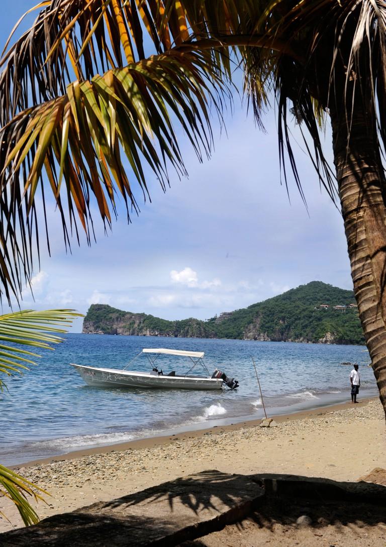 Beach near Soufriere, St Lucia