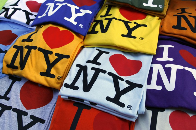 I Love New York t-shirts on sale in New York City